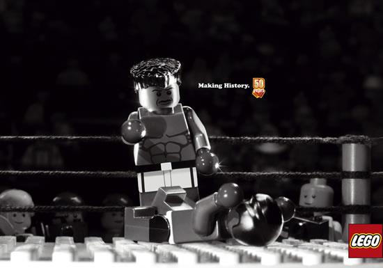 80 publicités Lego  50