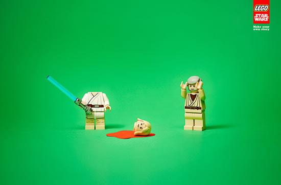 80 publicités Lego  79