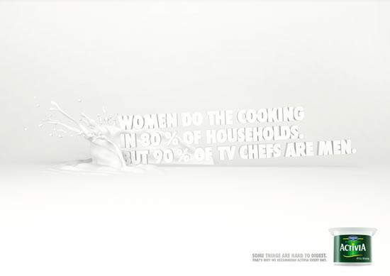 90+ publicités créatives et designs de Janvier février 2011 66