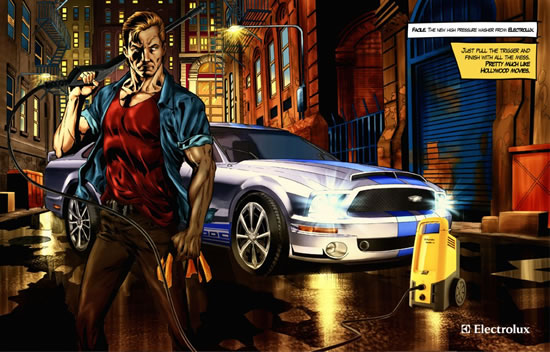 90+ publicités créatives et designs de Janvier février 2011 61