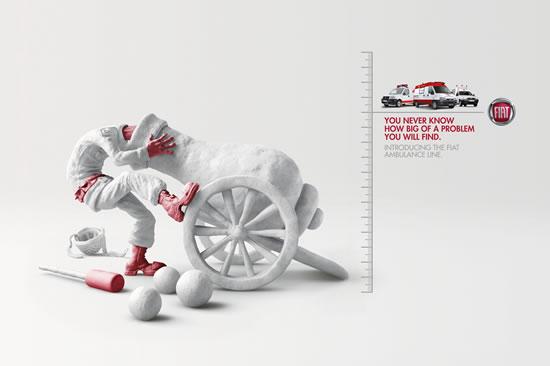 90+ publicités créatives et designs de Janvier février 2011 50