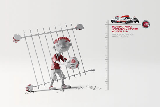 90+ publicités créatives et designs de Janvier février 2011 49
