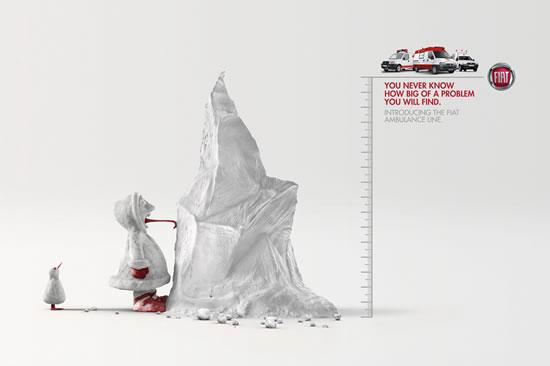 90+ publicités créatives et designs de Janvier février 2011 48