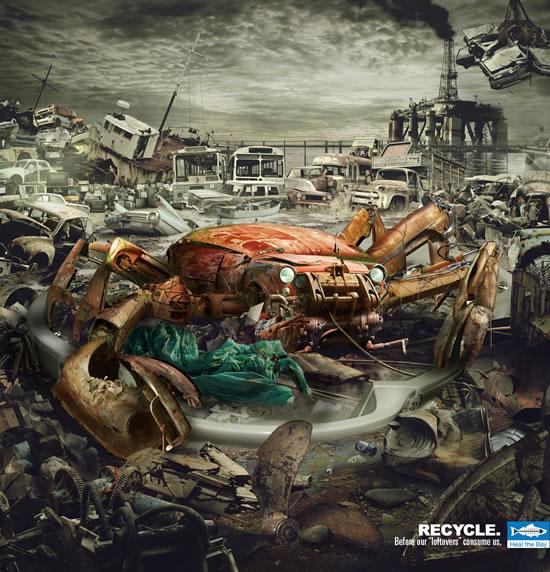 90+ publicités créatives et designs de Janvier février 2011 42