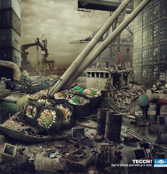 90+ publicités créatives et designs de Janvier février 2011 41