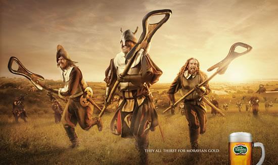 90+ publicités créatives et designs de Janvier février 2011 37