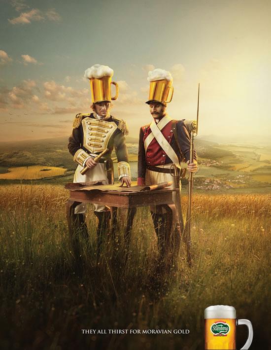 90+ publicités créatives et designs de Janvier février 2011 36