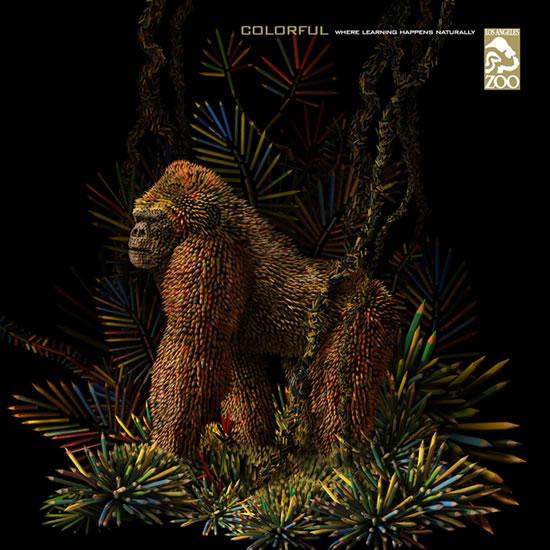 90+ publicités créatives et designs de Janvier février 2011 28
