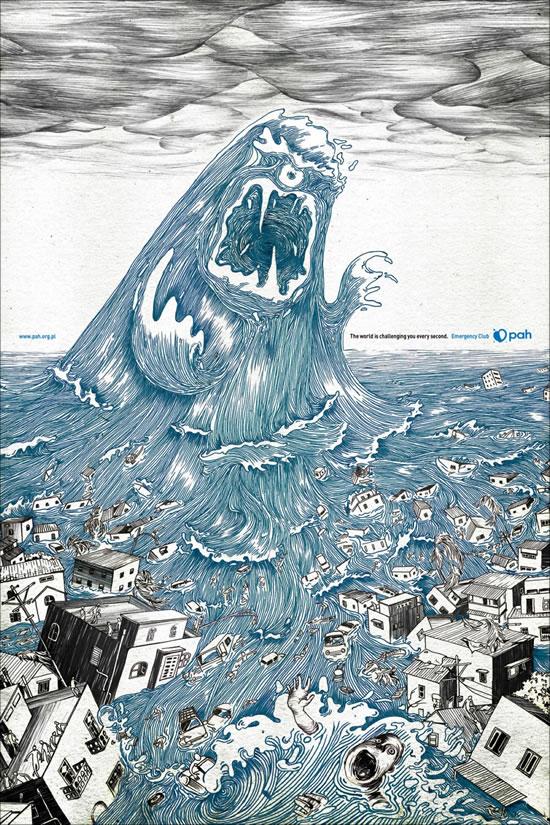 90+ publicités créatives et designs de Janvier février 2011 22