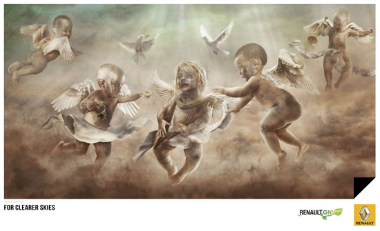 90+ publicités créatives et designs de Janvier février 2011 18