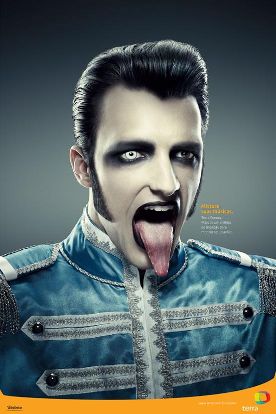 90+ publicités créatives et designs de Janvier février 2011 9