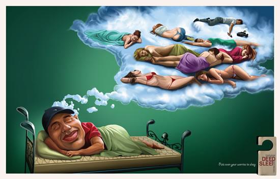90+ publicités créatives et designs de Janvier février 2011 1