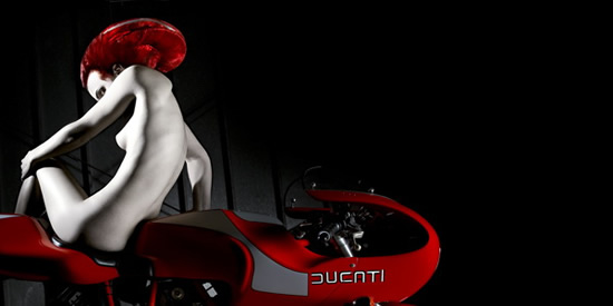 Collection Sexy de photos d'Art Ducati Desmo 17