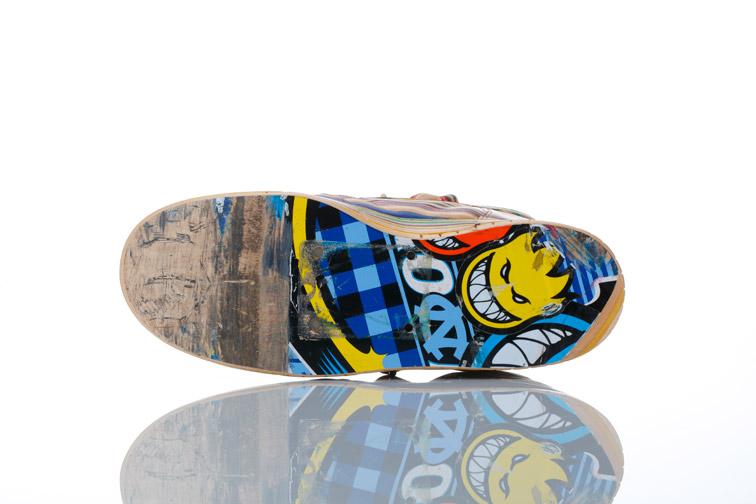 Sculptures de Haroshi avec des skateboards 24