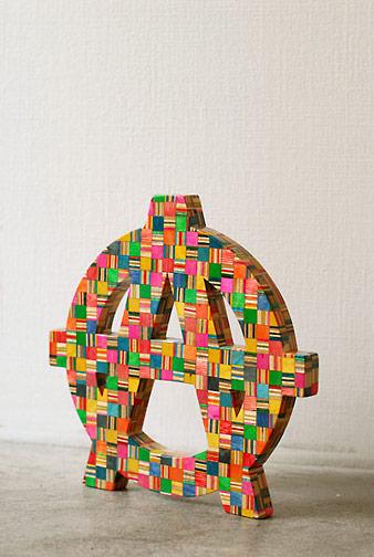 Sculptures de Haroshi avec des skateboards 2
