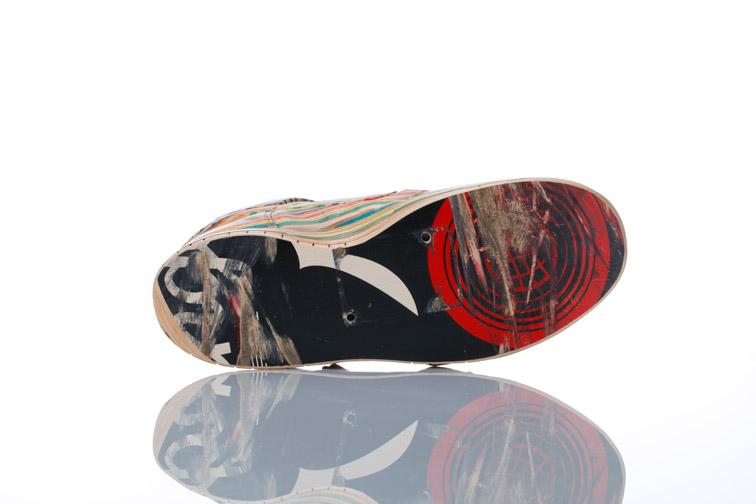 Sculptures de Haroshi avec des skateboards 23