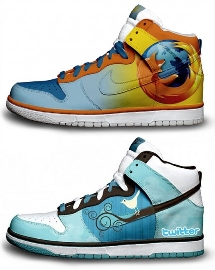 nike sneakers firefox twitter