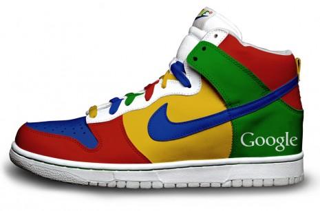 Nike Sneakers aux couleurs de Twitter, Google et Firefox 2