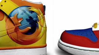 Nike Sneakers aux couleurs de Twitter, Google et Firefox 1