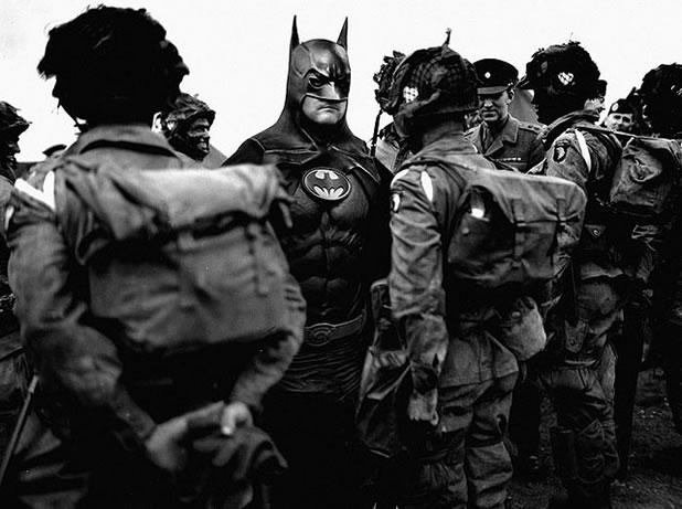 Les super-héros font partie de l'histoire 3