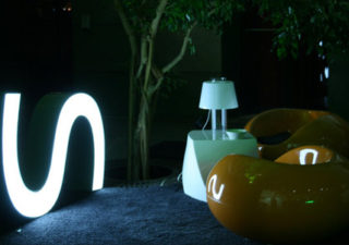 Character - Les typographies Leds recyclées