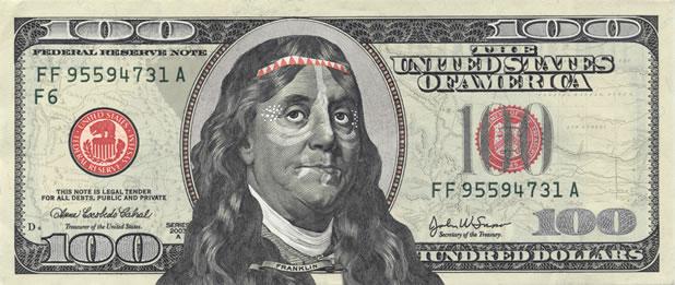 Make your franklin - Détournez votre billet de 100$ 7