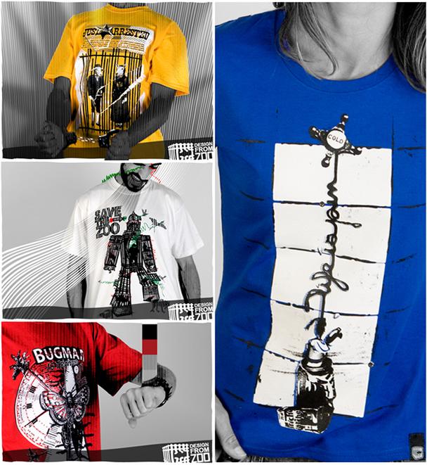 Concours 2 Teeshirts Design à gagner avec Designfromzoo 2