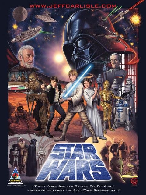 Les meilleurs posters FanArts StarWars 24