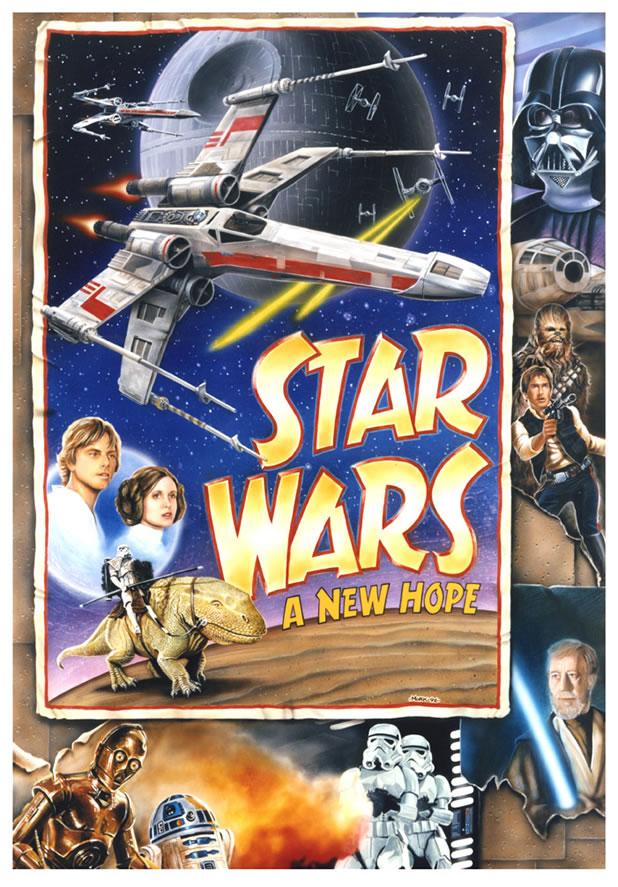 Les meilleurs posters FanArts StarWars 16