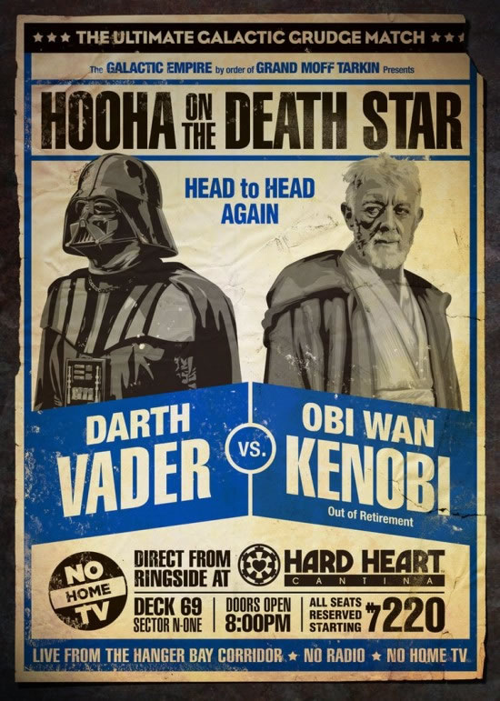 Les meilleurs posters FanArts StarWars 14