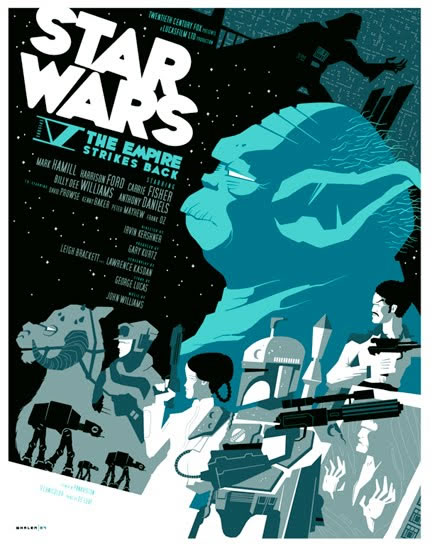 Les meilleurs posters FanArts StarWars 4