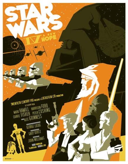 Les meilleurs posters FanArts StarWars 3