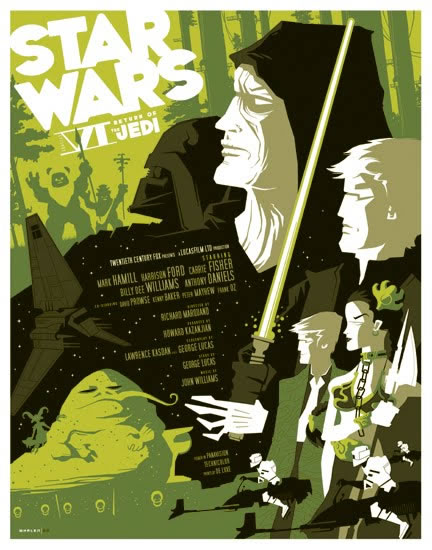 Les meilleurs posters FanArts StarWars 2