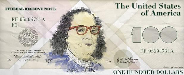 Make your franklin - Détournez votre billet de 100$ 2