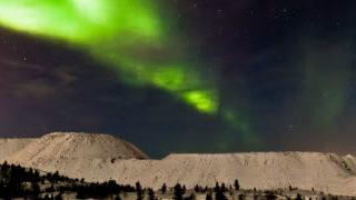 Magnifique time-lapse d'une aurore boreale