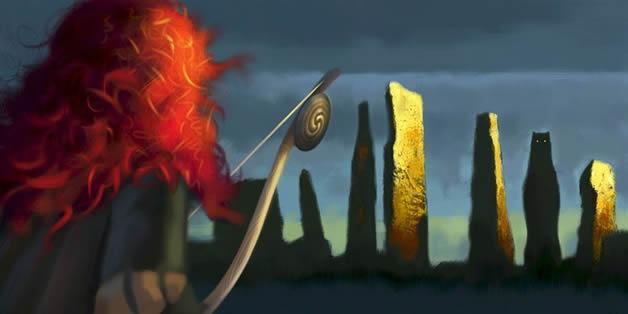 Premieres images de BRAVE, le prochain Pixar 5