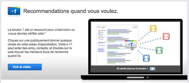 Google lance son bouton +1 2
