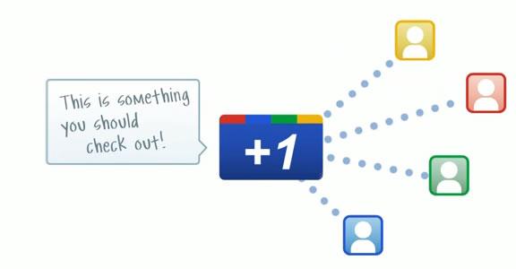 Google lance son bouton +1 4