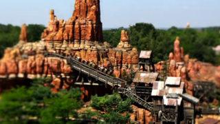 Disneyland Paris en Tilt Shift