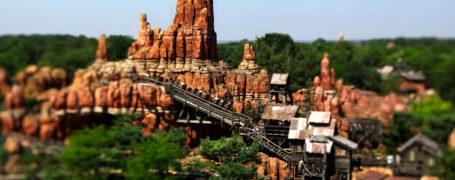 Disneyland Paris en Tilt Shift 8