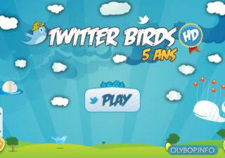 #Twitter à 5 Ans alors il devient Twitter Birds [joke] 1
