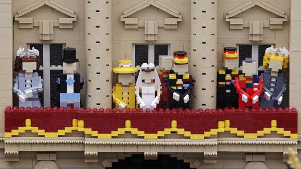 Le mariage du Prince Williams en LEGO 2