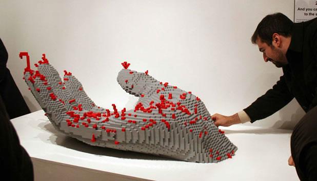 50 meilleurs créations en LEGO de Nathan Sawaya 49