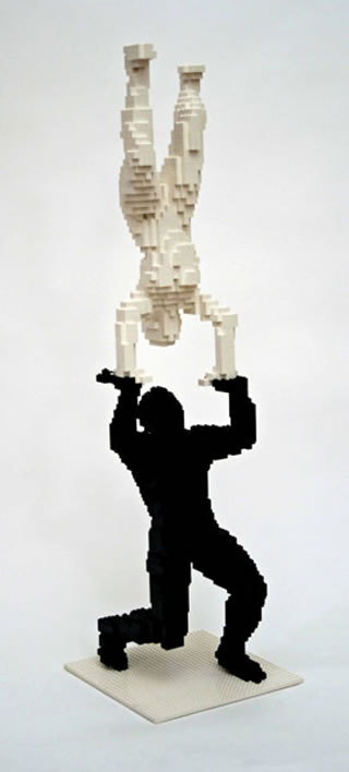 50 meilleurs créations en LEGO de Nathan Sawaya 47