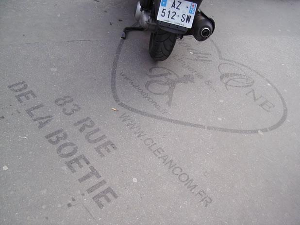Concept Street-Art/publicités Ecolo avec le Tag propre Cleancom 6