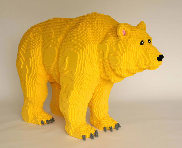 50 meilleurs créations en LEGO de Nathan Sawaya 45