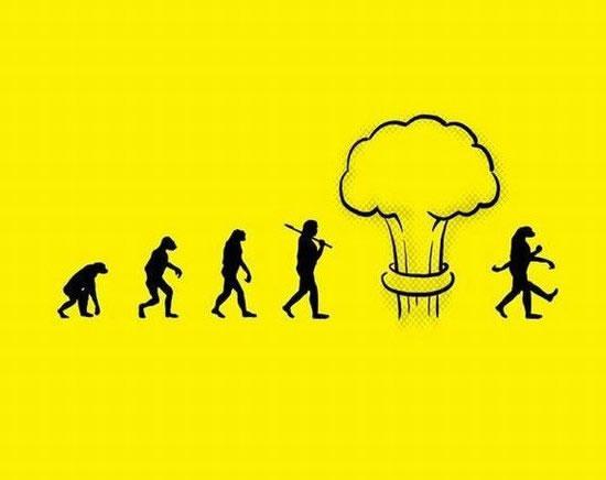 16 parodies de l'évolution de l'homme 3