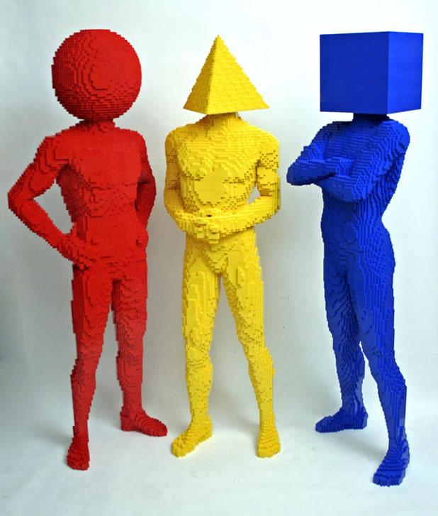 50 meilleurs créations en LEGO de Nathan Sawaya 35