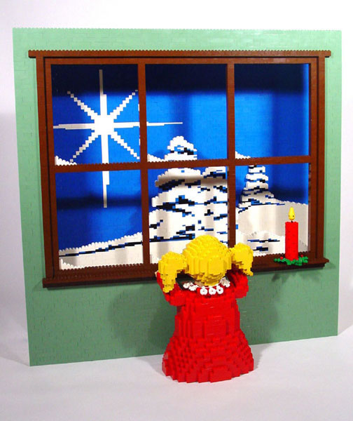 50 meilleurs créations en LEGO de Nathan Sawaya 34