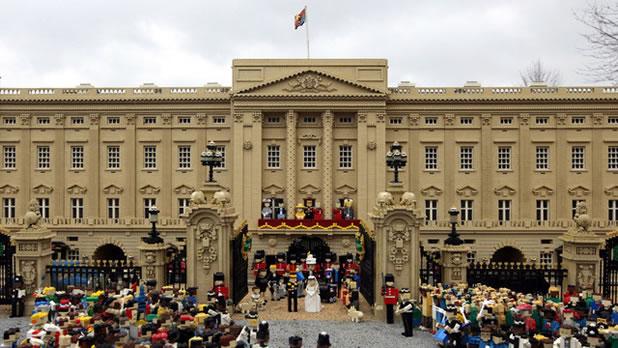 Le mariage du Prince Williams en LEGO 4
